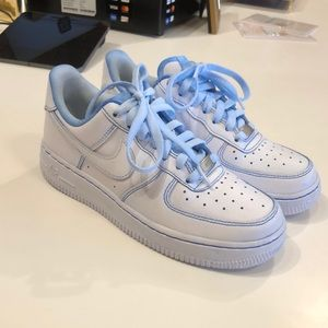 Hand dyed Nike Air Force 1's!